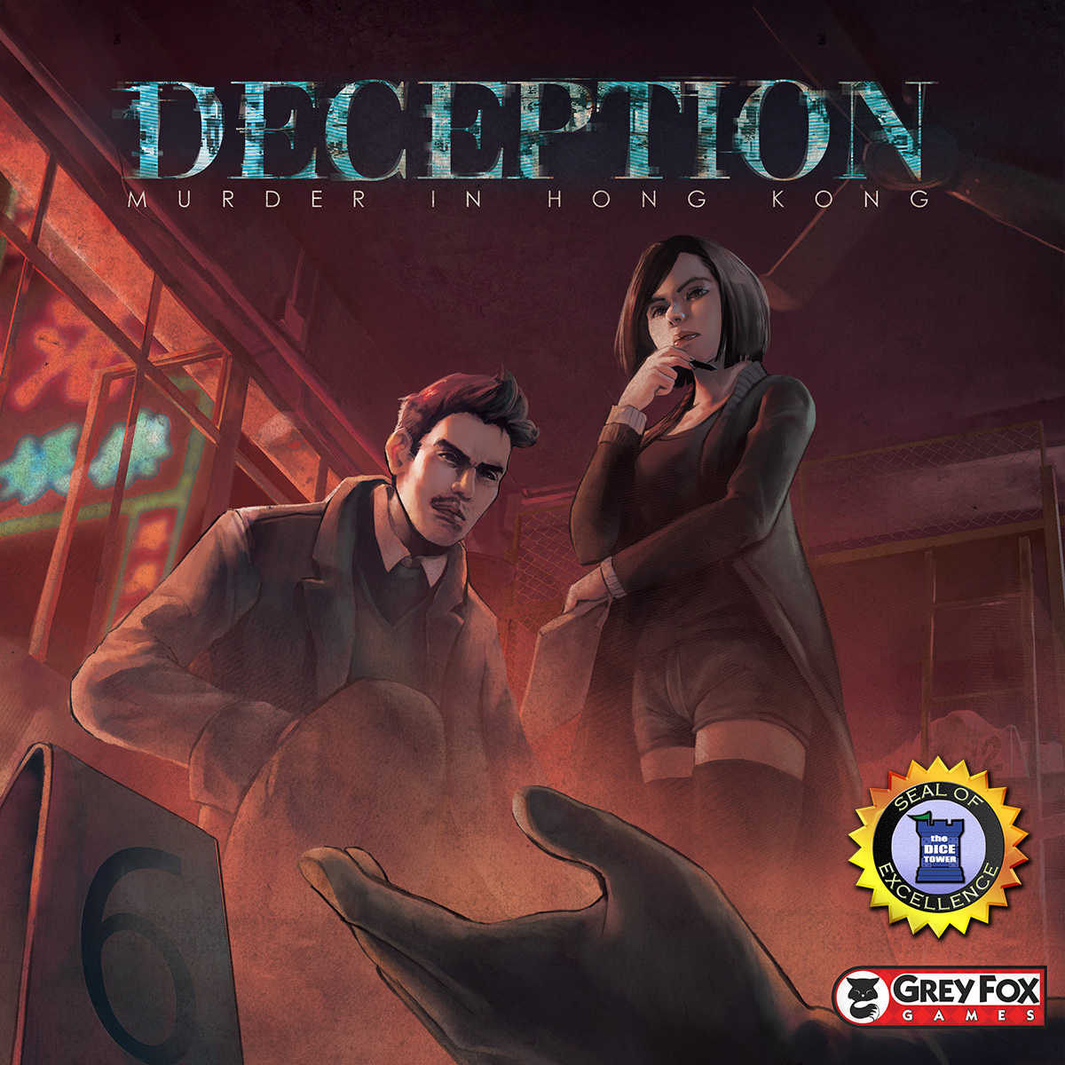 Deception board game review