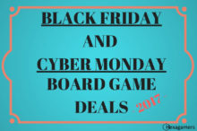 Black Friday and Cyber Monday Board Game Deals