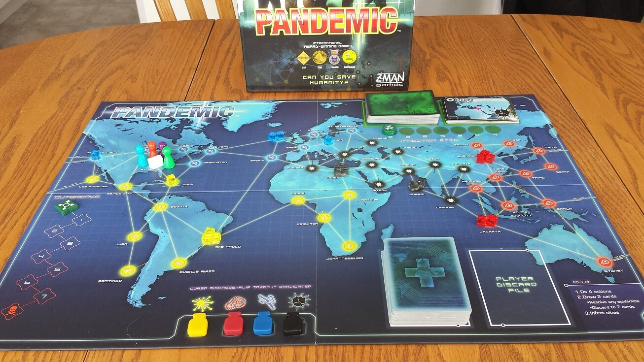 Pandemic: How To Play – Simplified - Hexagamers