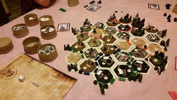 Best Custom Settlers Of Catan Game Boards Hexagamers