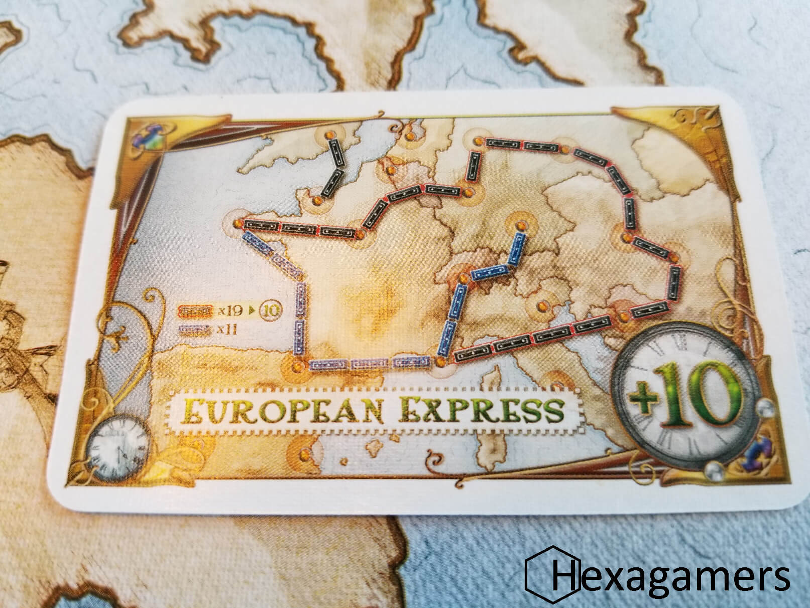 Ticket To Ride Europe How To Play Simplified Hexagamers
